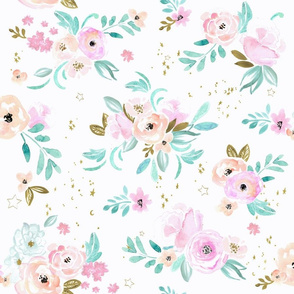 unicorn floral - just flowers