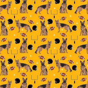 TINY - german shepherd dog fabric - pittsburgh fabric, german shepherds
