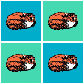 Sleeping Fox (Large 12 inch size)