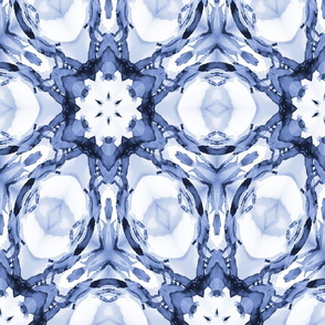 Kaleidoscope blue 24