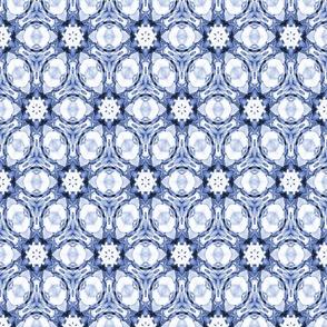 Kaleidoscope blue 8