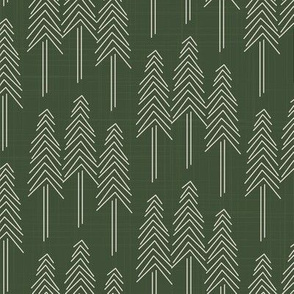 Forest - Pine Trees Olive