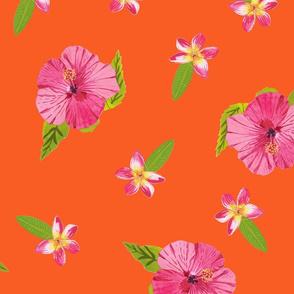 Hawaiian Floral Print