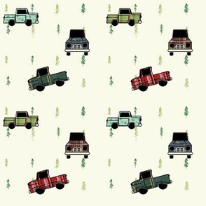 Plaid Trucks