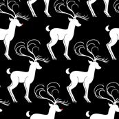 Rudolph & Friends B&W