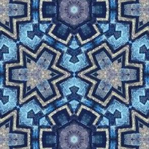 iznik snow crystal mosaic