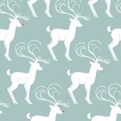 Rudolph & Friends Dusty Green