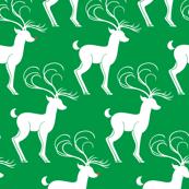 Rudolph & Friends (Jolly Santas in PJs Green)