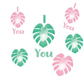 I Monstera You (I LOVE YOU)