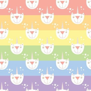 Cat Unicorn Rainbow