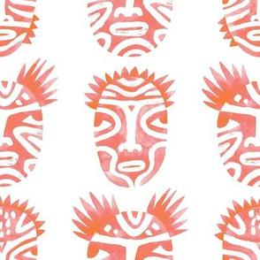 Ritual faces / Pink
