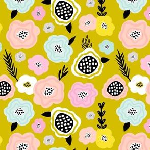Scandinavian florals