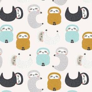 Cute baby sloths