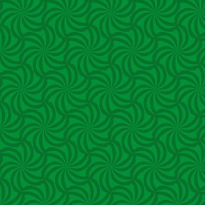 pinwheel tessellation green