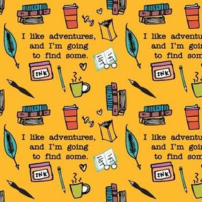 I Like Adventures Yellow