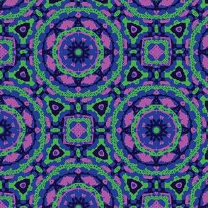 Mayan Geo - Blue