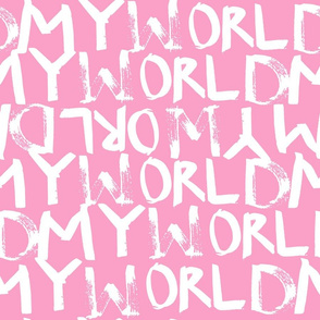 My World in Shell Pink