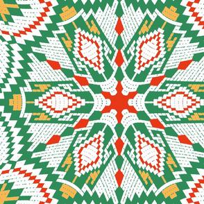 nordic  kaleidoscope RGY