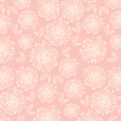 Winter Flower Pink Floral