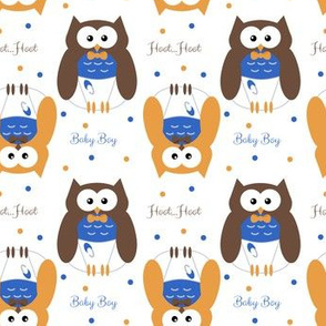 Baby Boy Owl