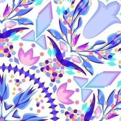 Kaleidoscope Confetti Cold Mid Scale