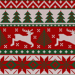 Christmas knit ( scale)
