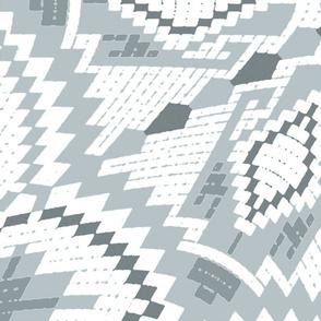 nordic  kaleidoscope grey (jumbo)