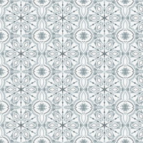 nordic  kaleidoscope grey25