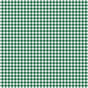check green and white