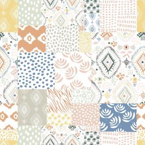 Boho Aztec Quilt Pattern