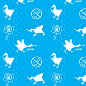 Untitled Polkadot Goose Pattern