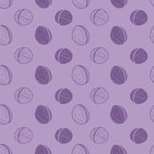 Purple walnuts