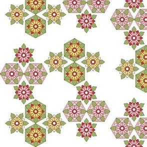 Kaleidoscope 4 twirl white