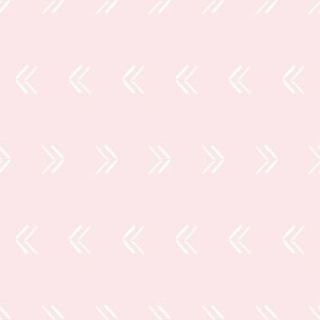 Sticks and Stones Simple Arrows on Pink