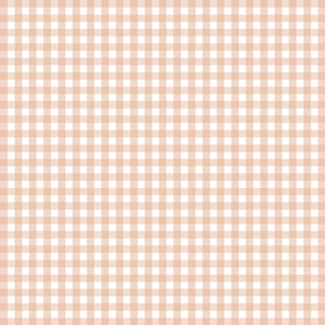 Twig and Bloom Ochre Gingham