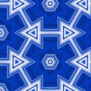 grecian blue tiles