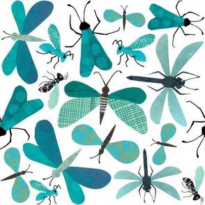 Teal Bugs