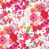 Round floral blobs