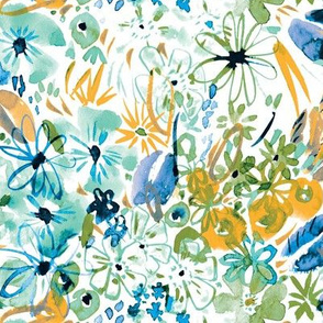 Spring wild floral