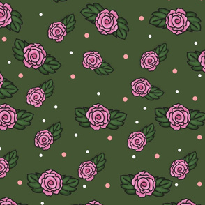 Sweet Doodle Roses