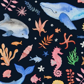 Whimsical Sea Theme (Jumbo Scale)