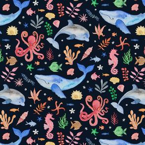 Whimsical Sea Theme (Medium Scale)