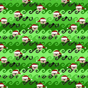 Christmas Wave of Sea Otters