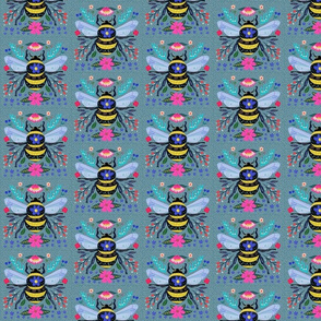 Bee_And_Flower_Spell Pattern
