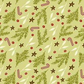 Retro Branches-Celery
