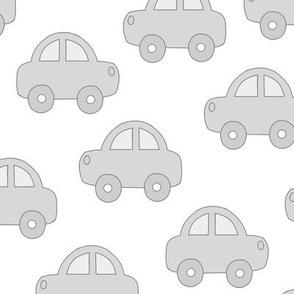 Cars Gray Baby Boy Vehicle Transportation