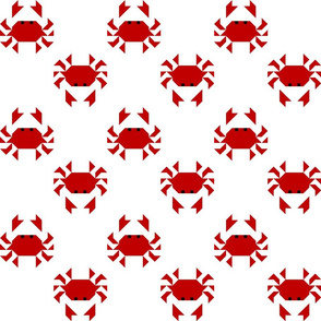 Red Crabs Large