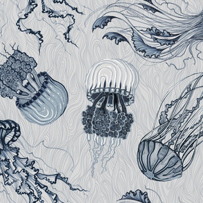 jellyfish light bluegrey