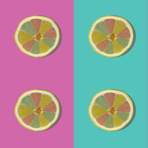 I took a photo of half a lemon and then made guacamole - Pop Art DC