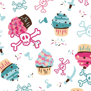 Cupcake Pirates Large
